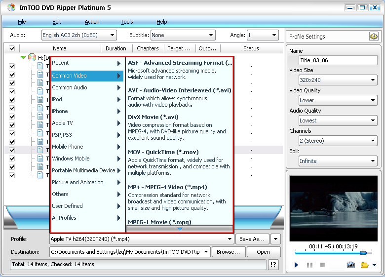 Joboshare dvd ripper platinum is easy-to-use and powerful dvd ripping software