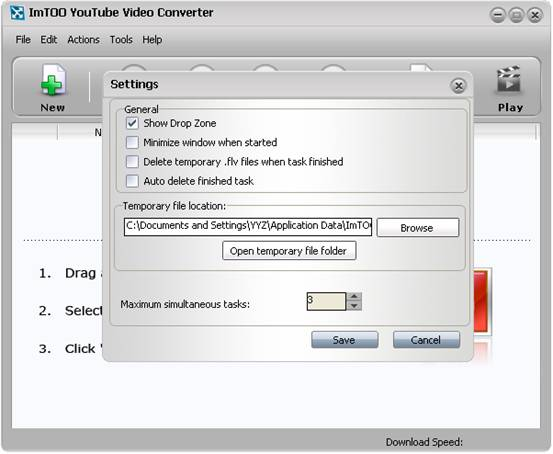Totosoft how to convert youtube video to ipodzunepsp free open httpyoutube and choose the video you want to download and convert there are three ways to do so a drag the video thumbnail to the drop ccuart Image collections