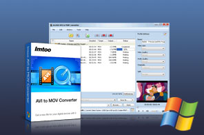 ImTOO AVI to MOV Converter