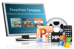 Powerpoint in video