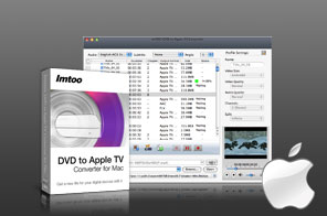 ImTOO DVD to Apple TV Converter per Mac