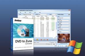 ImTOO DVD to Zune Converter