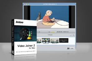 concatenare video e film su mac