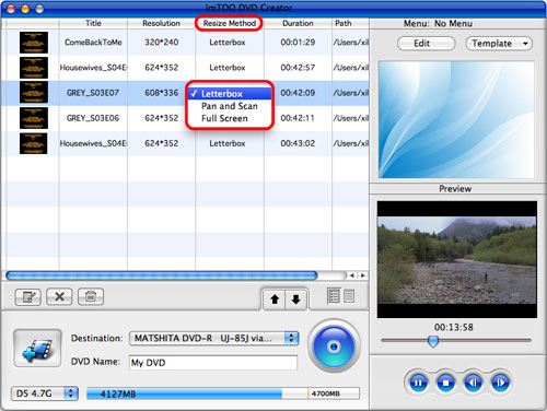 ImTOO DVD Creator for Mac
