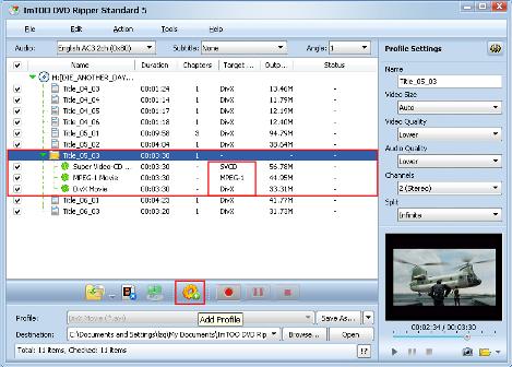 estrarre e convertire video da dvd