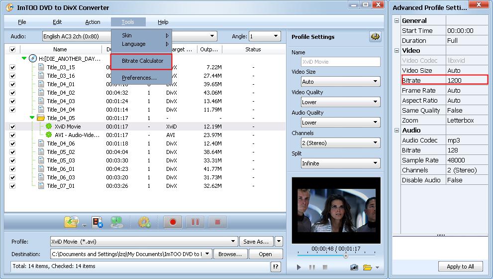 DVD Converter - Convertir DVD en AVI, MKV, DVD, iPad, etc.