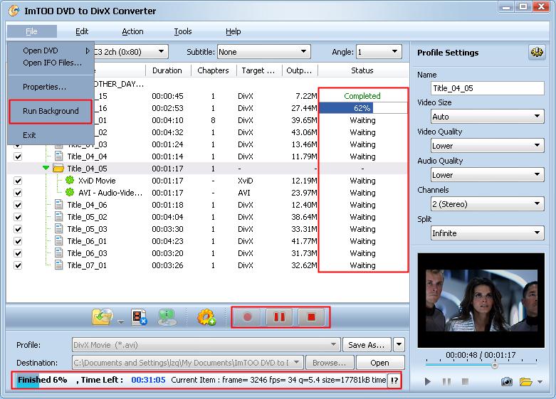 <b>DVD</b> to <b>DivX</b> Converter: <b>DivX</b> <b>DVD</b> ripper to convert <b>DVD</b> to…