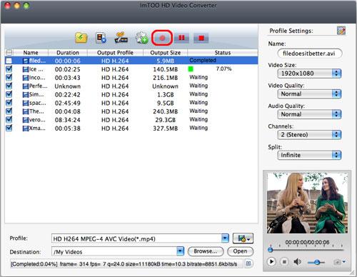 convertire HD su Mac