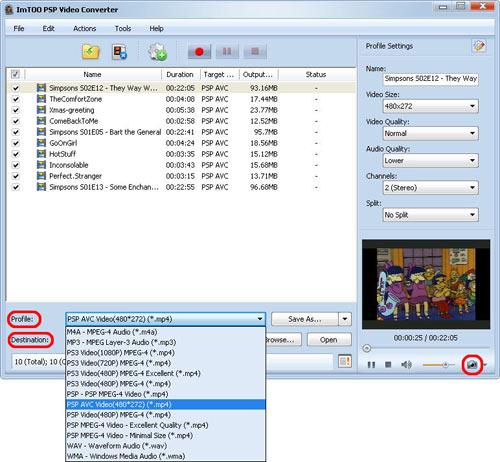 WMV to PSP