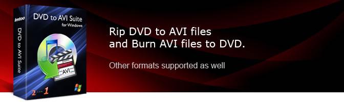 ImTOO DVD to AVI Suite