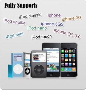 trasferire files da iphone e ipod su mac