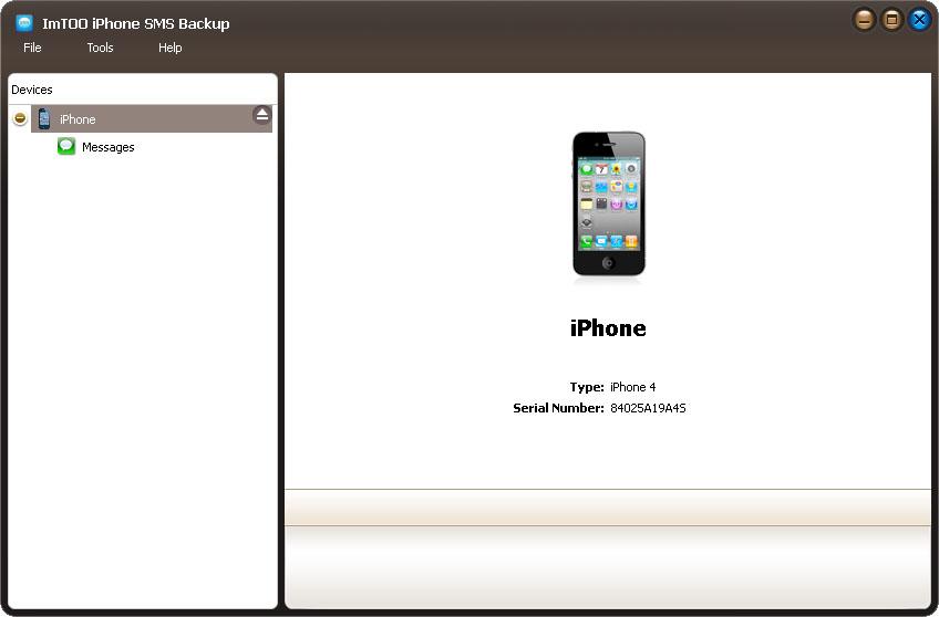 ImTOO iPhone SMS Backup 1.0.0.1217 full