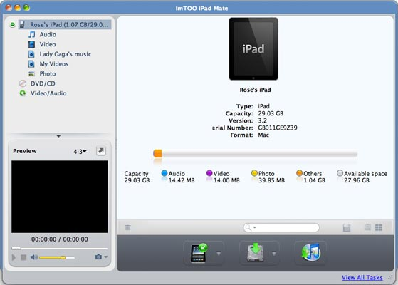 ImTOO iPad Mate for Mac