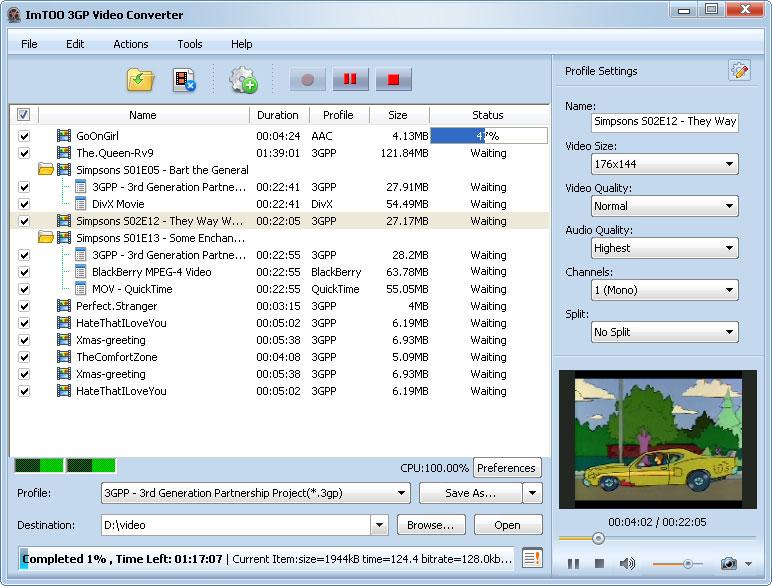 ImTOO Video Converter 5.1.23.0508��� ����