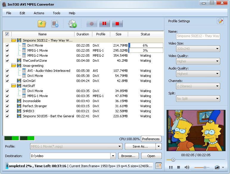 التعريب 609 ـ ImTOO AVI MPEG Converter 5 لتحويل ملفات الفيديو من و إلى AVI و MPEG avi-mpeg-converter-s