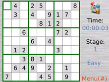 Cool  Sudoku puzzles on BlackBerry.