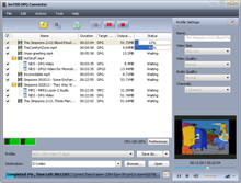 Screenshot of ImTOO DPG Converter
