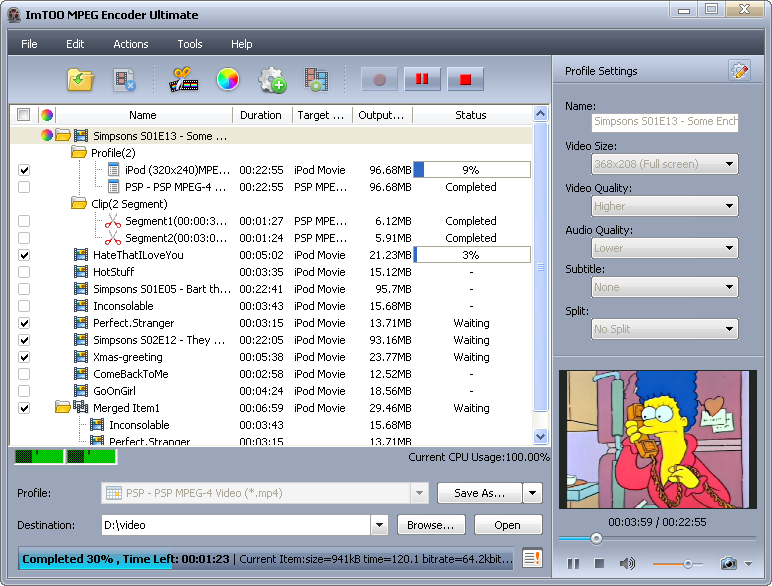 ImTOO MPEG Encoder Ultimate 5.1.23 Build 0402.